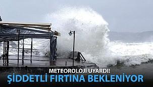 Meteoroloji Uyardı: Şiddetli Fırtına Bekleniyor!