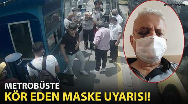 Metrobüste Kör Eden Maske Uyarısı!