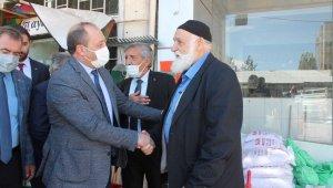 Naim Karataş Horasan'da vatandaşlarla bir araya geldi
