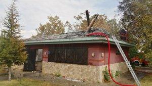 ODTÜ yerleşkesinde tesis yemekhanesinde yangın