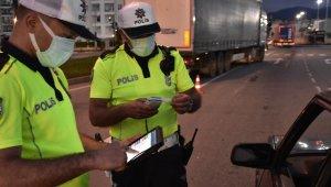 Ordu'da 97 araç trafikten men edildi, 66 sürücünün ehliyeti geri alındı