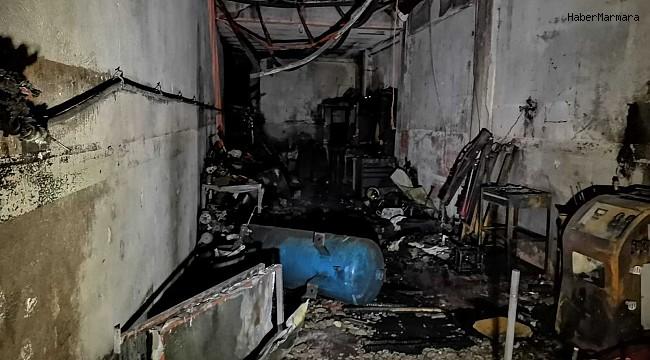 Oto elektrikçide LPG tüpü patladı: 1 ölü, 2 yaralı