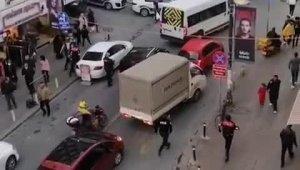 Pompalı tüfekle tehditler savurdu, polise doğrultunca omuzundan vuruldu