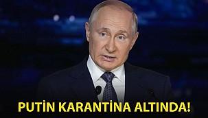 Putin Karantina Altına!