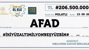 """""""Ben de Varım"""" kampanyasına 93 OSB'den 206 milyon liralık destek"""