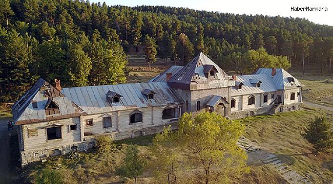 Rus Çarı 2. Nikolay'ın Kars'taki av köşkü otel oluyor