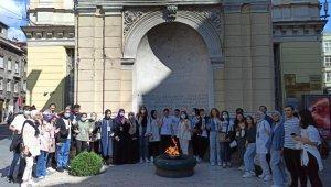 Sultangazi'nin başarılı gençlerine Bosna Hersek ödülü
