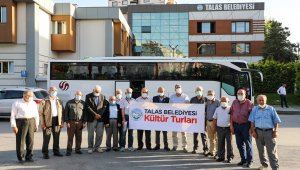 Talas Belediyesi'nden gazilere Çanakkale gezisi