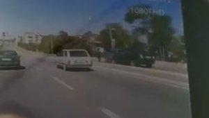 Tali yolda sürati giden otomobilin çarptığı yaya öldü