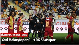 Yeni Malatyaspor 0 - 1 DG Sivasspor