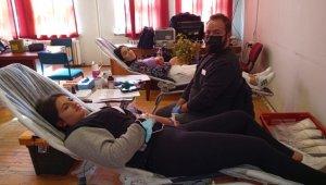 Altıntaş MYO'da kan bağışı kampanyası