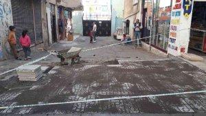 Bağlar sokaklarında tümsek ve çukurlar kaldırıldı, yeni karo taşları döşendi