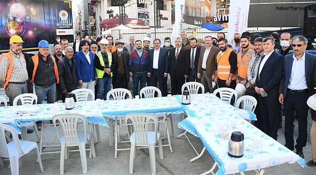 """Başkan Demir: """"Geleceğin şehrini inşa ediyoruz"""""""