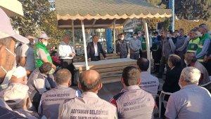 Başkan Kılınç, park ve bahçeler müdürlüğü personeliyle buluştu