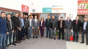 Başkan Köse'den MHP İlçe Başkanı Canözü'ne hayırlı olsun ziyareti