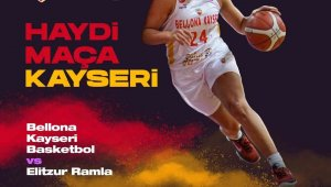 Bellona Kayseri Basketbol Kulübü'nden taraftara çağrı