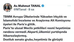 """Çavuşoğlu'ndan CHP'li Tanal'a tepki: """"Sayın Tanal, Fransa programımızı bu tür doğru olmayan beyanlarla gölgelemeyelim"""""""