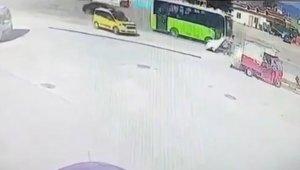 Feci kazada ölen yabancı uyruklu vatandaş defnedildi