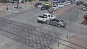 Gaziantep'teki trafik kazaları kameralarda