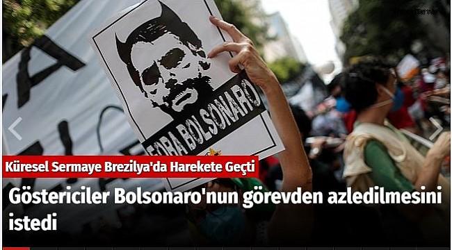 Göstericiler Başkan Bolsonaro'nun görevden azledilmesini istedi