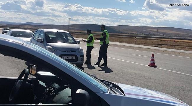Jandarmadan havadan trafik ve asayiş denetimi