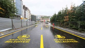 Kağıthane'de Merkez Mahallesi ve çevre yolları düzenleme projesi tamamlandı