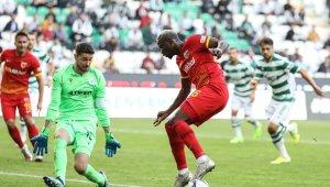 Kayserispor beşinci mağlubiyetini aldı