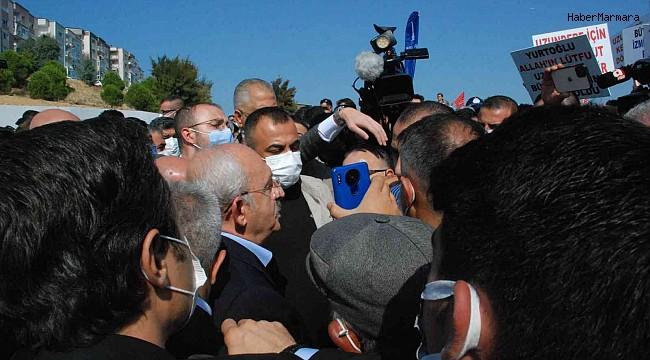 Kılıçdaroğlu'nun programı öncesi kentsel dönüşüm eylemi