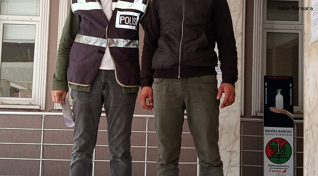 Manisa'da 16 dairenin su sayacını çalan şüpheli tutuklandı