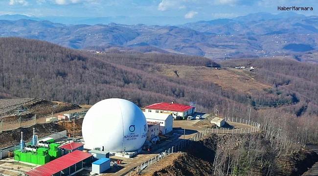 Ordu'da çöpten 3 ayda 2 milyon MWh elektrik üretildi