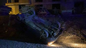 Polisten kaçarken araçları takla attı, kurtulan 3 şahıs kayıplara karıştı