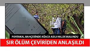 Portakal bahçesindeki ölüm, Rusça yazılan mesajın Türkçe çevirisiyle ortaya çıktı
