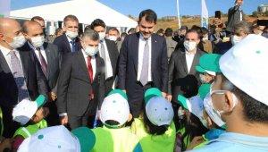 Sultanbeyli'ye 'Millet Bahçesi' yapılıyor, ilk fidanlar dikildi