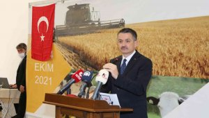 Tarım ve Orman Bakanı Bekir Pakdemirli: