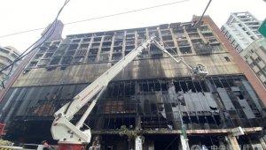 Tayvan'daki yangın faciasında ölü sayısı 25'e yükseldi