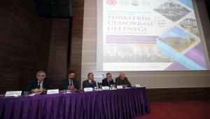 Tokat'ta, Türklerin Demokrasi Geleneği sempozyumu başladı