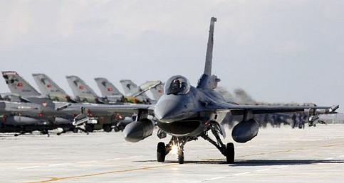 Savaş Uçakları Sınır Boyu ve Kuzey Irak İçin Teyakkuza Geçti