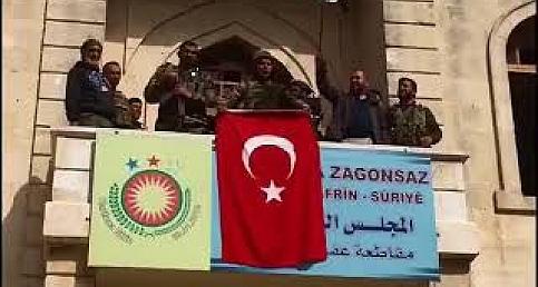Afrin Zaferini 18 Mart Şehitlerine Armağan Ettiler