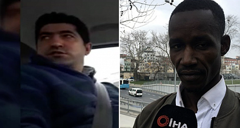 """Taksici, """"Sen terörist misin, cami bombalamaya mı geldin buraya!"""""""