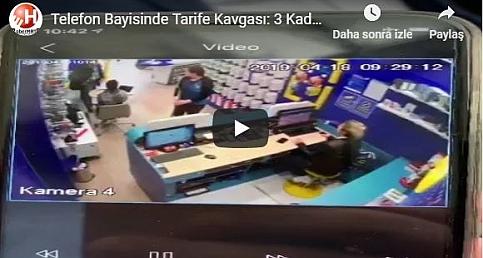 Telefon Bayisinde Tarife Dehşeti: İki Çalışan Vuruldu!