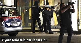 Avusturya'nın başkenti Viyana'da terör saldırısı!