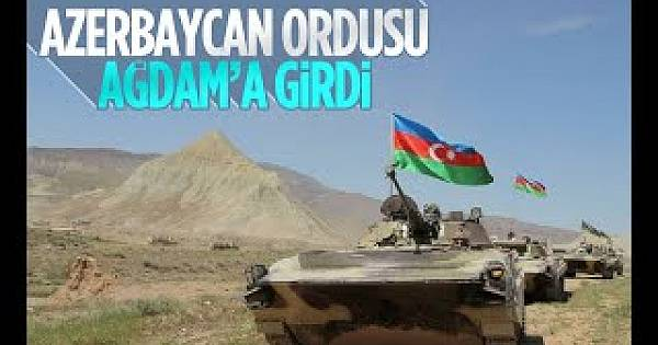 Azerbaycan Ordusu 27 Yıl Sonra Ağdam'da
