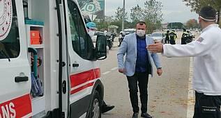 Korona Virüslü Sürücü Trafiğe Çıktı...3 bin 200 TL  Ceza  Yedi
