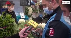 Halk Tedbirlere Uyuyor mu? Avcılar Semt Pazarında Sıkı Denetim Önlemleri #avcılarhabermerkezi