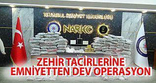 #Avcılar'da Dev Uyuşturucu Operasyonu !