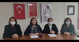 Cumhuriyet Kadınları Derneği HDP'nin Kapatılması Konulu Basın Açıklaması