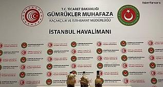 İstanbul Havalimanı'nda Şeytanın Bile Aklına Gelmez Operasyon Kamerada