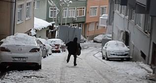 İstanbulluların Karla İmtihanı