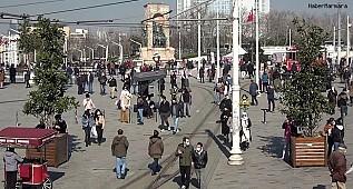 İstiklal Caddesi'nde