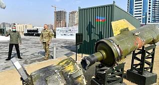 Azerbaycan'ın Ermenistan ordusundan ele geçirdiği askeri araçlar sergilenecek